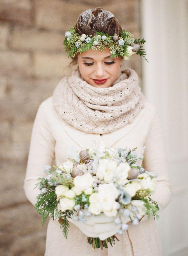 Súper fan de las bodas de invierno! Hoy en el blog un shooting de inspiración