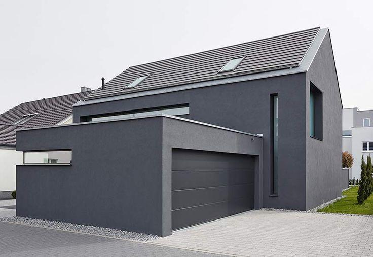 Neubau eines Einfamilienhauses mit Carport
