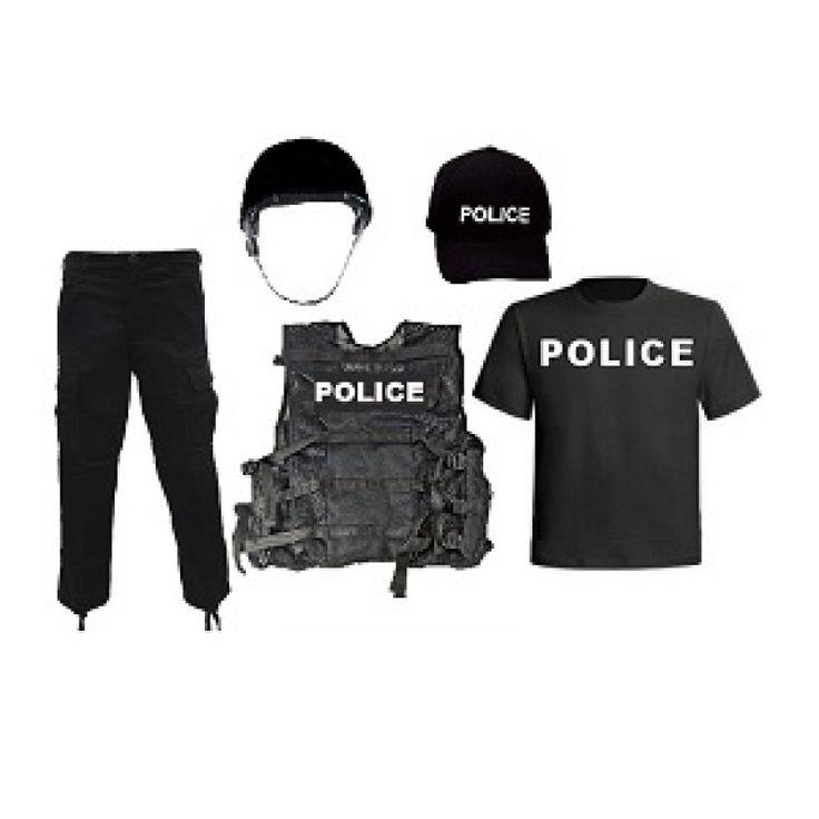 Kids Police Costume Combo #4