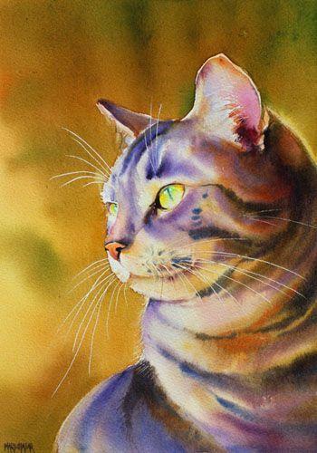 Aquarelles animaux - Thierry de Marichalar Watercolor