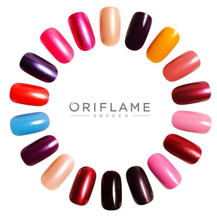 Choose your color #oriflame #nailpolish