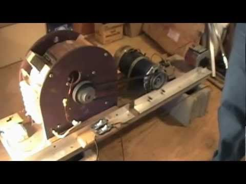 i really wish i can diy one of this at home.............  Self Running 40kW 40,000 Watt Fuelless Generator Full Video