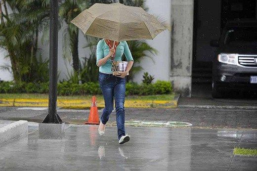Meteorología pronostica lluvias débiles de corta duración este lunes