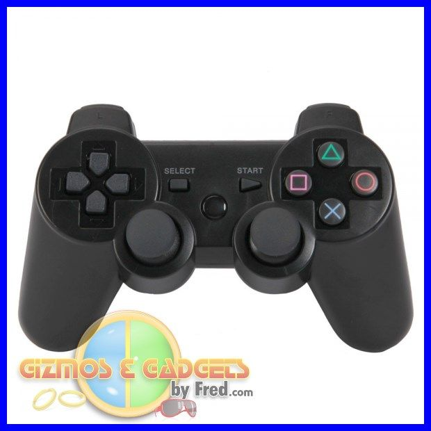 PS3 Remote. Wireless.NON-OEM. Black Perfect buy. exactly as OEM. full details at: gizmosandgadgetsbyfred.com