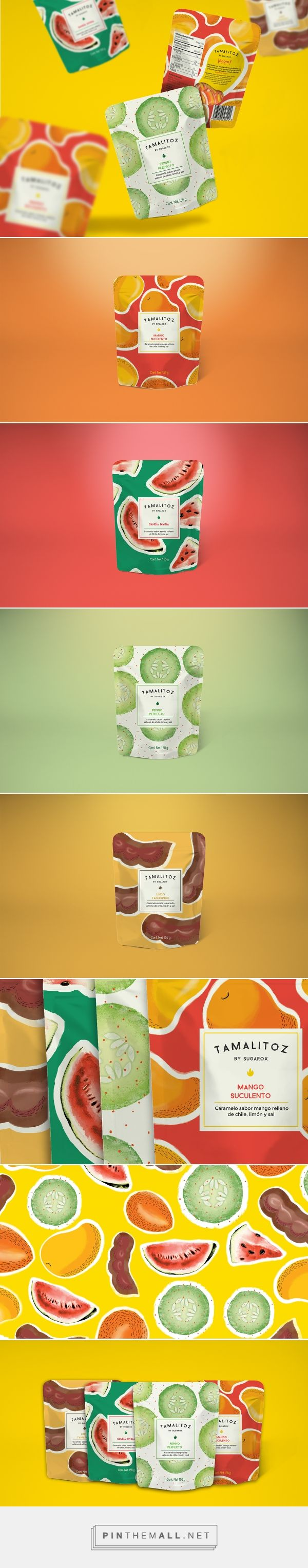 TAMALITOZ Candy Packaging project by The Welcome Branding Group