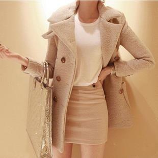 Шерстяные пальто зимой