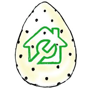 Pinterest #Easteregg logo from BuySpares