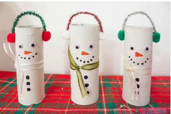 paper roll snowman craft 17 best images about crafts on sugar scrub diy 5131