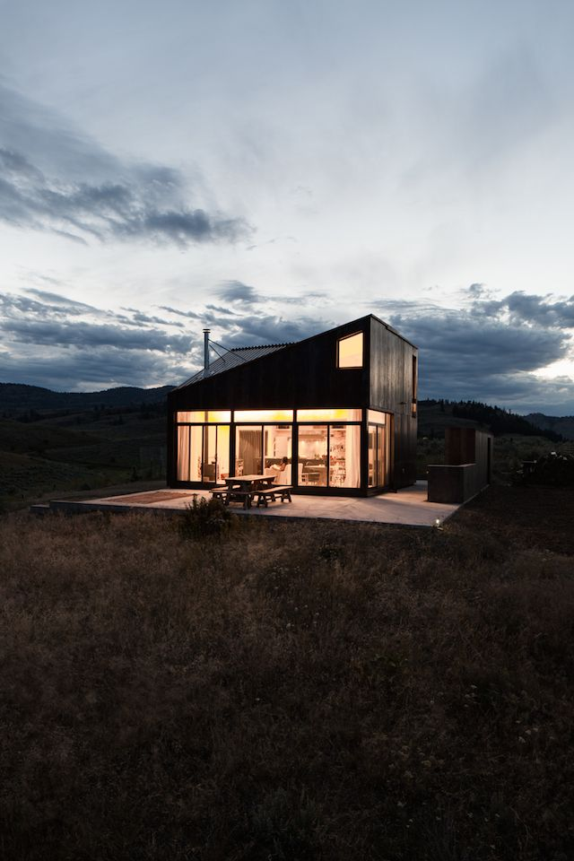 Off-the-Grid Prefab Cabin by Jesse Garlick | iGNANT.de  Stunning beauty and free to live! Call us if you live in the Camden NY area. http://camdensolar.com/