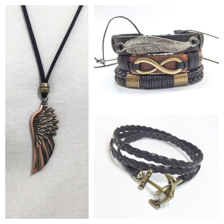 Pulseiras masculinas mens bracelets colar necklace