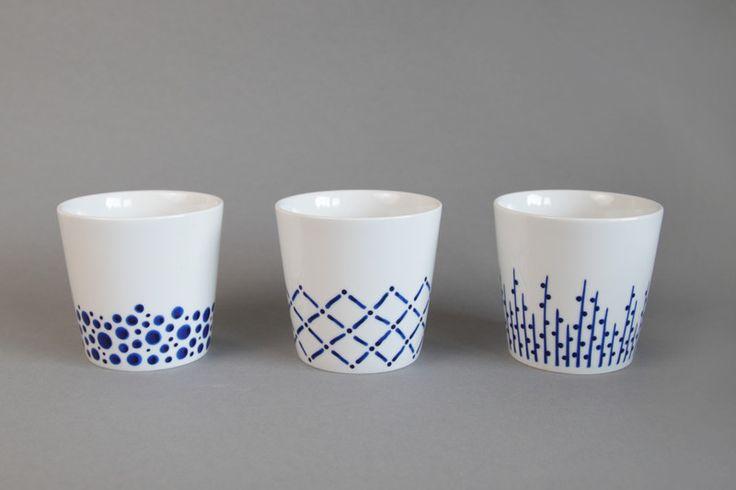 handbemalte Kaffeebecher von Wucholtzky