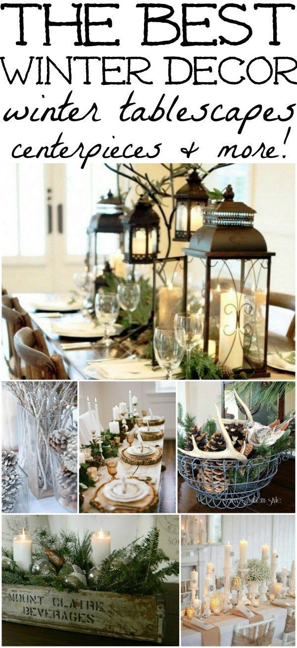 25 best ideas about winter home decor on pinterest for Home decorations after christmas