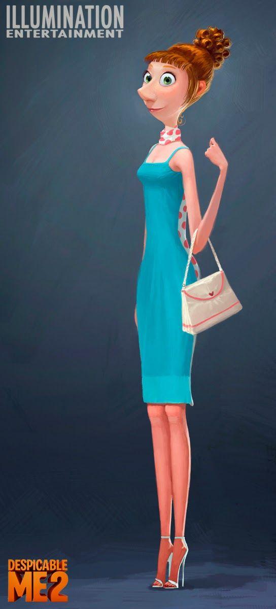 ART of CLEMENT GRISELAIN: Despicable Me 2 Characters Colors