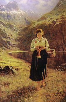 Hans Dahl (born in Hardanger 1849 - died in Balestrand 1937) Pinned by www.LKnits.com
