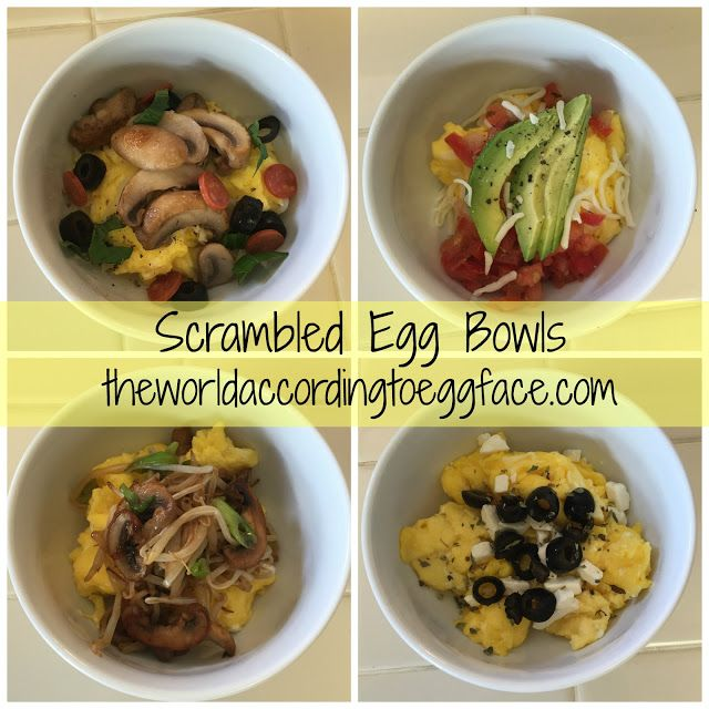 Scrambled Egg Breakfast Bowls - Low Carb Protein Packed Breakfast ...