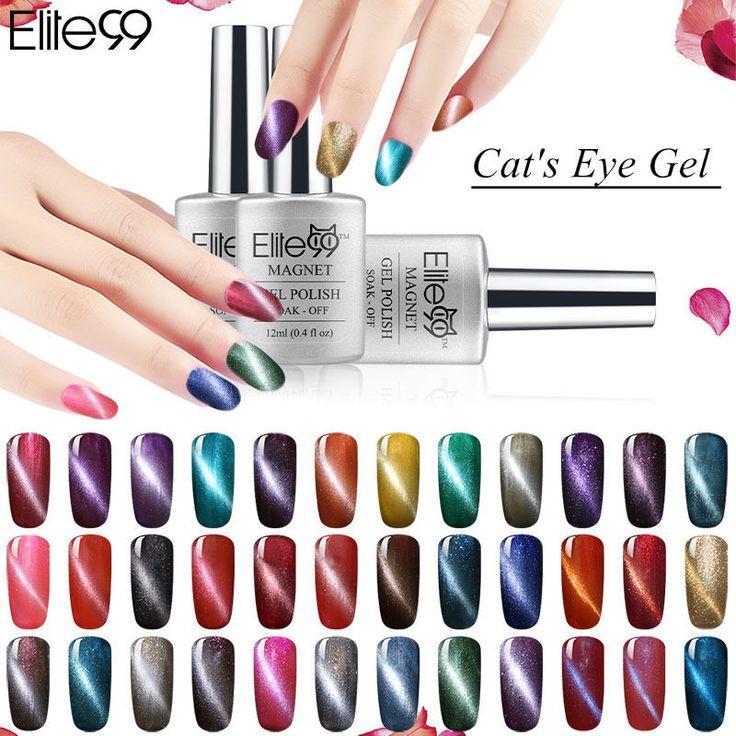 Elite99 Magnet UV Gel Lack Farbe Magnetische Katzenauge Gel Nagellack 12 ml 3d-effekt Katzenauge Gel polnischen Lacqeur
