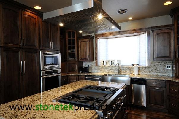 granite tile on pinterest stone backsplash wine cellar and larger
