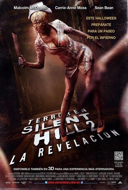 Terror en Silent Hill 2: La revelación 3D. Reseña y Descargas. ¡Llévate el póster oficial de la película!  http://wp.me/p1Ti7x-kZ