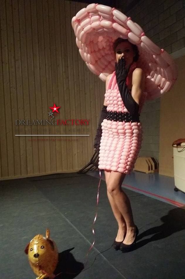 Fashion balloon dress made by dreaming-factory.com
