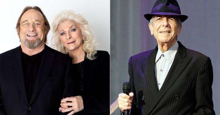 Hear Stephen Stills, Judy Collins Unite on Moody Leonard Cohen Tribute #headphones #music #headphones