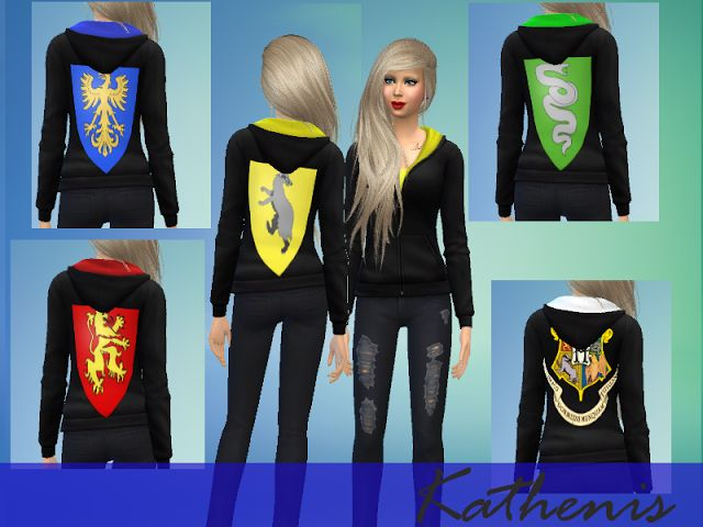 sims 4 ccs the best harry potter shirts amp tattoos by