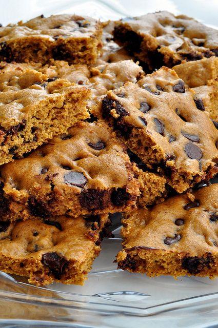 Pumpkin Chocolate Chip BrowniesDesserts, Recipe, Pumpkin Chocolate Chips, Food, Pumpkin Brownies, Pumpkin Chocolates Chips, Healthy Pumpkin, Sweets Tooth, Chocolates Chips Brownies