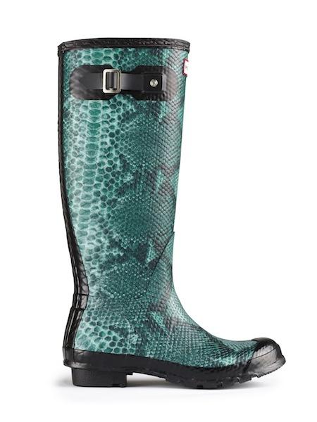 Trend Moda Autunno Inverno 2012 2013: i nuovi stivali da pioggia Hunter, foto