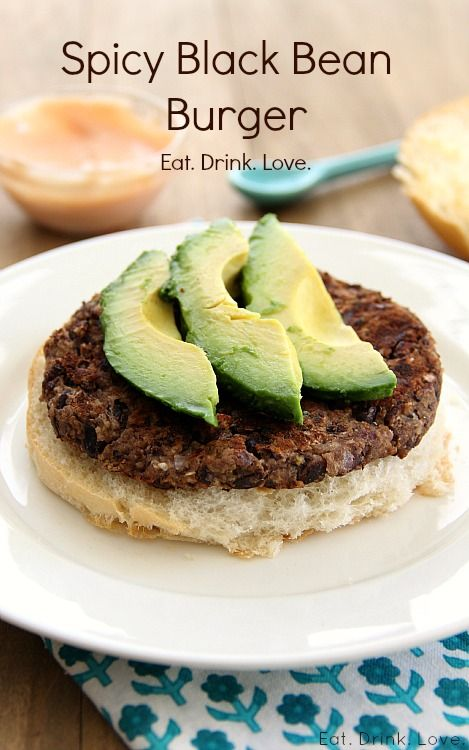 Spicy Black Bean Burgers » Eat. Drink. Love.
