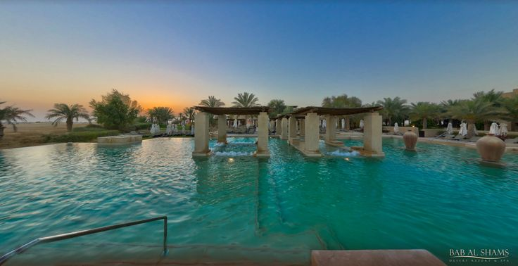 Bab Al Shams - Infinity pool
