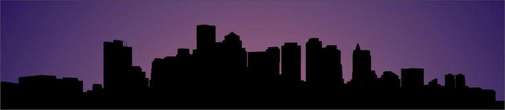 boston skyline outline | Boston Skyline by kingnothing on deviantART