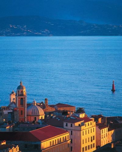 Ajaccio is the capital of Corsica, a French island in the Mediterranean Sea. A port city on the rugged isle's western coast, it was the birthplace of French Emperor Napoléon Bonaparte |Before leaving for France, head over to the Travel page of the Talk in French store for all the essentials you need: http://store.talkinfrench.com/product-category/travel/