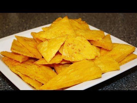 REZEPT: TACOS - TORTILLA CHIPS - SELBSTGEMACHT AUS MAISTORTILLAS - schnell & einfach selber machen - YouTube