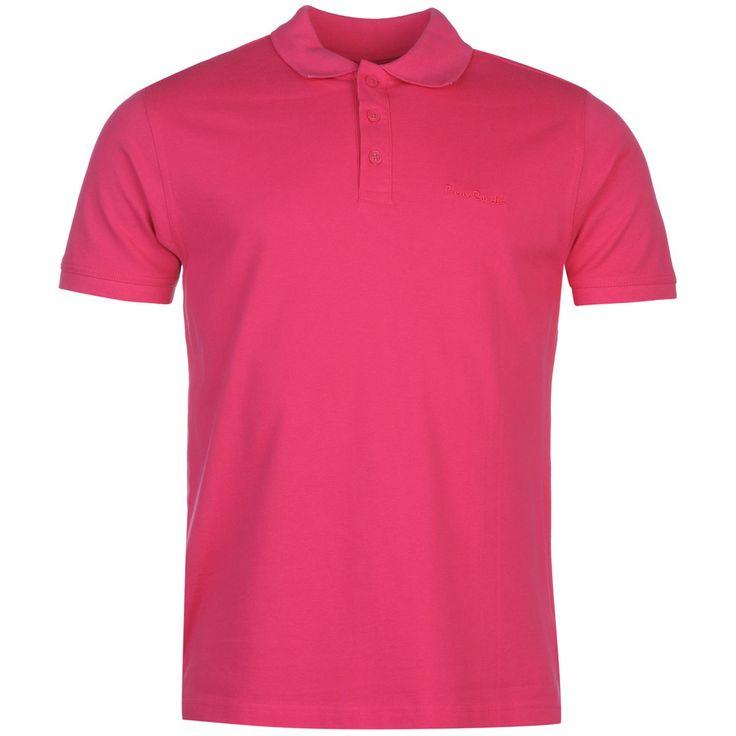 Pierre Cardin Plain Polo Shirt