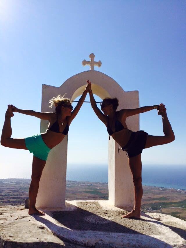 Yoga Santorini island, Greece. - Selected by www.oiamansion.com in Santorini