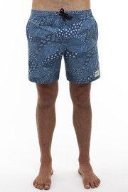 Rhythm - Meadow Jam  Shorts - Blue