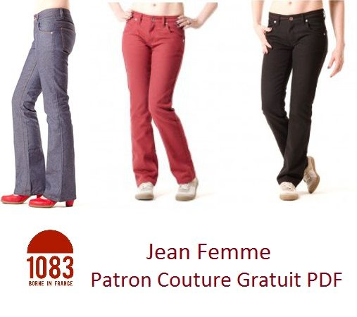 Bettinael.Passion.Couture.Made in france: A Faire soi-même, coudre son Jean droit ou bootcut