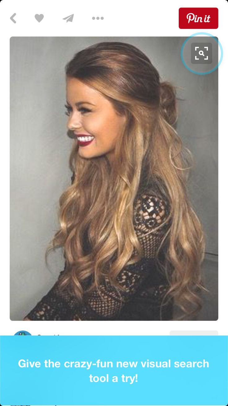 Party Hairstyles Hairstyle Ideas Half Up Down Hair Colour Haircolor Updos Coloring Wedding Style