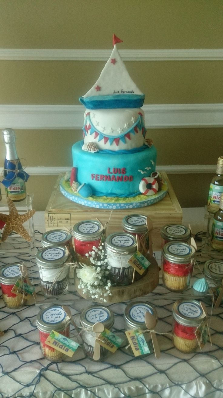 Baby Shower cake , Marino cake