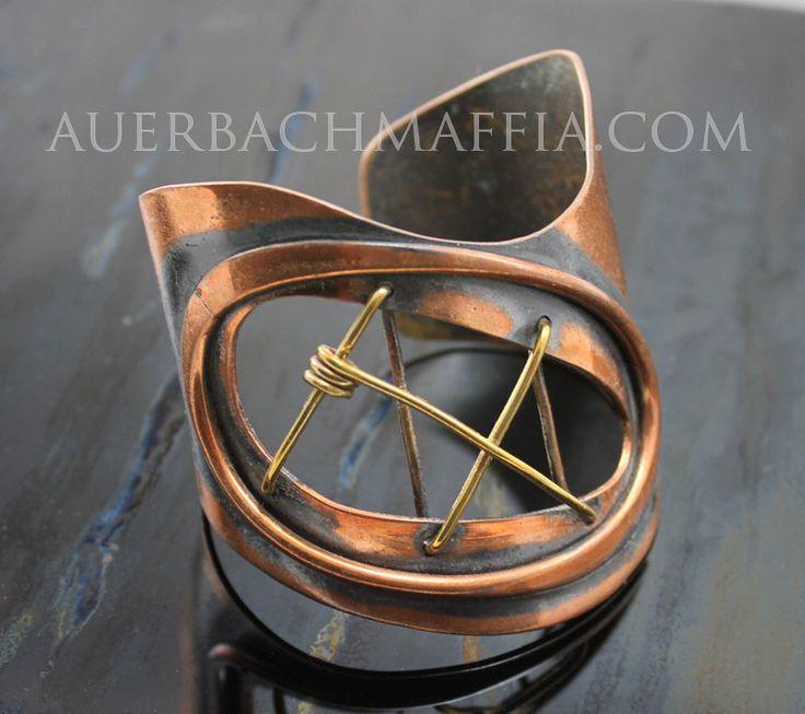 Cuff | Art Smith.  Copper and Brass.  1950