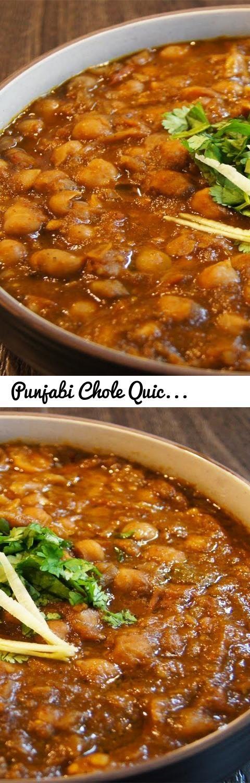 Punjabi Chole Quick Recipe - Dhaba Style !! :)... Tags: Chole, bhature, india, indian cuisine, sanjeev kapoor, buzzfeed tasty, street food, foodporn, delhi, mumbai, bangalore, hyderabad, chickpea, chick pea, spicy, tasty, chana, masala, masala