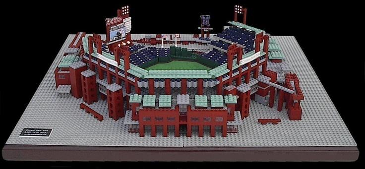 Citizens Bank Park Philadelphia Phillies 3 500 Lego Blocks Www Burikmodeldesign Com Lego