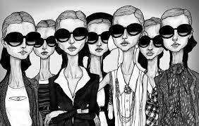 Image result for vogue fashion illustrators