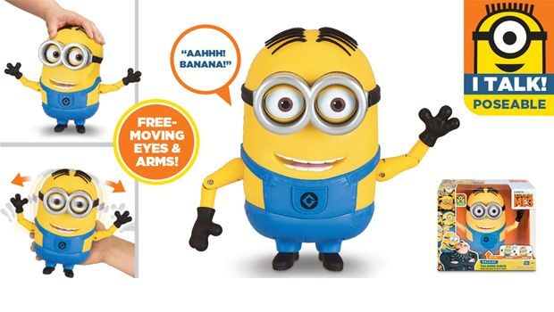 TALKING MINION ACTION FIGURE TALKING DAVE