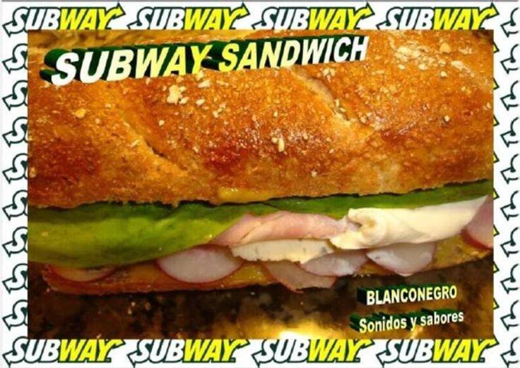 Subway sandwich (pan hecho en casa)