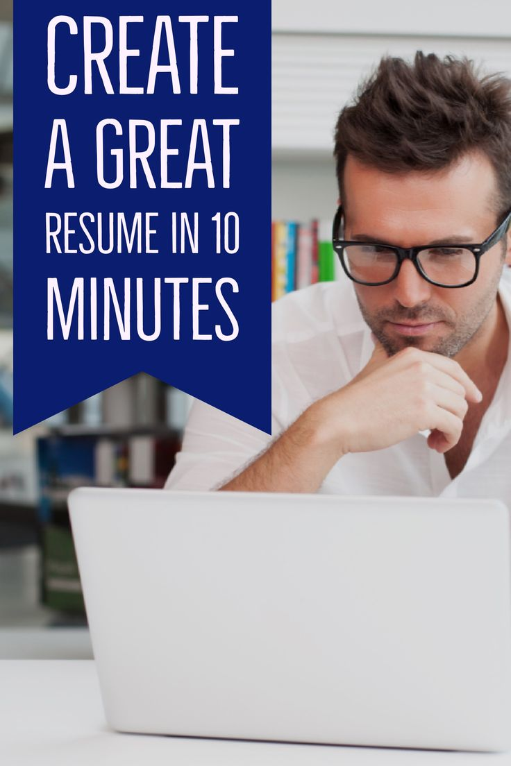 Do you want to learn how to create a great resumefast? Whether you're starting from scratch or updating an existing document, creating a great resume does not have to take a lot of time. Here are some strategies to get your resume in great shape—in no time.