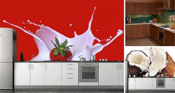 16 Inspirationen für coole Tapeten, die den langweiligen Look eurer Küche für immer beseitigen | CooleTipps.de