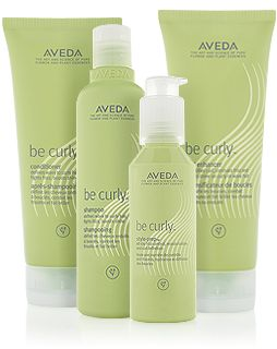 Get beach waves at home and pick up some be curly products from Avantegarde Aveda
