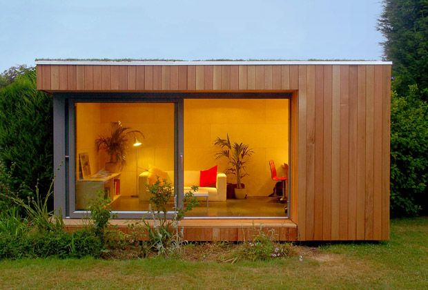 INK+WIT: Home Office vs Out of Home Office / Modern Shed, Barn, House Addition Solutions