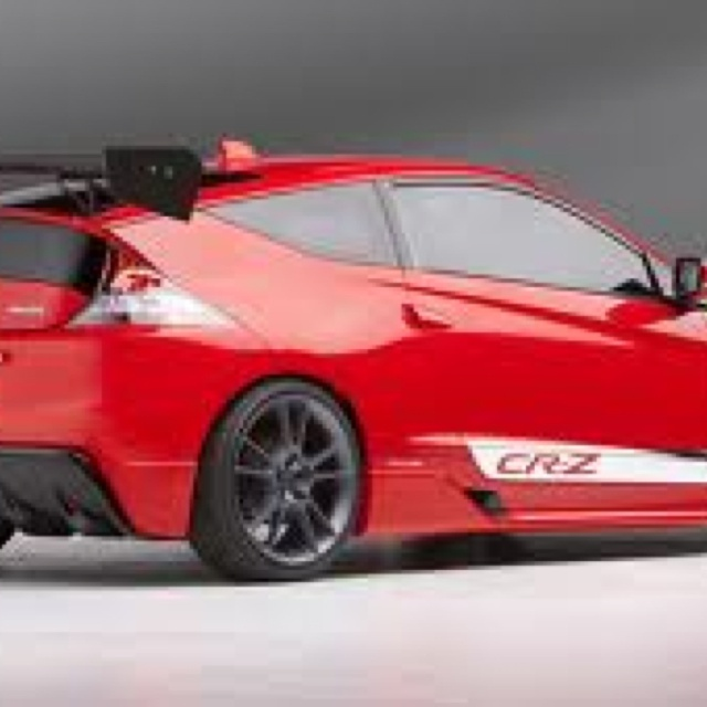 honda cr z red