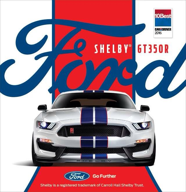 2016 Ford Mustang Shelby GT-350R